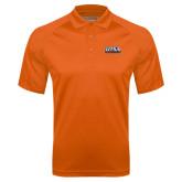 Orange Textured Saddle Shoulder Polo-UTSA Roadrunners Stacked