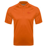 Orange Textured Saddle Shoulder Polo-Roadrunner Head Tone