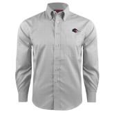 Red House Grey Plaid Long Sleeve Shirt-Roadrunner Head