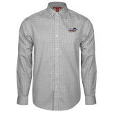 Red House Grey Plaid Long Sleeve Shirt-UTSA Roadrunners w/ Head Flat