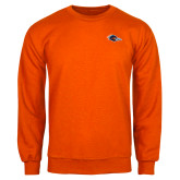 Orange Fleece Crew-Roadrunner Head
