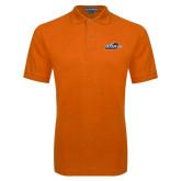 Orange Easycare Pique Polo-UTSA Roadrunners w/ Head Flat