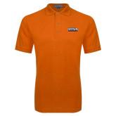 Orange Easycare Pique Polo-UTSA Roadrunners Stacked
