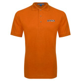Orange Easycare Pique Polo-UTSA