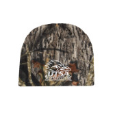 Mossy Oak Camo Fleece Beanie-Primary Logo