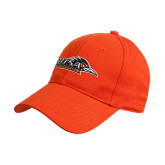 Orange Heavyweight Twill Pro Style Hat-UTSA Roadrunners w/ Head Flat