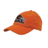 Orange OttoFlex Unstructured Low Profile Hat-Primary Logo
