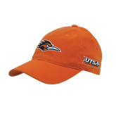 Orange OttoFlex Unstructured Low Profile Hat-Roadrunner Head