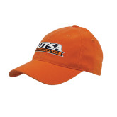 Orange OttoFlex Unstructured Low Profile Hat-UTSA Roadrunners Stacked