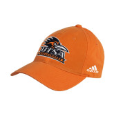 Adidas Orange Slouch Unstructured Low Profile Hat-Primary Logo