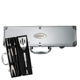 Grill Master 3pc BBQ Set-UTSA Engraved