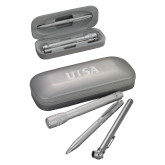 Silver Roadster Gift Set-UTSA Engraved