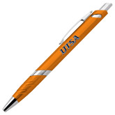 Milo Orange Pen w/Blue Ink-UTSA