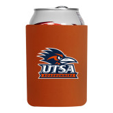 Collapsible Orange Can Holder-Primary Logo