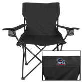 Deluxe Black Captains Chair-Primary Logo