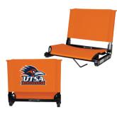 Stadium Chair Orange-Primary Logo