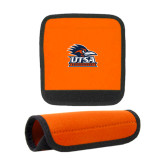 Neoprene Orange Luggage Gripper-Primary Logo