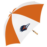 62 Inch Orange/White Umbrella-Roadrunner Head