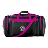 Black With Pink Gear Bag-Primary Logo