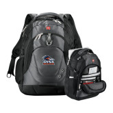 Wenger Swiss Army Tech Charcoal Compu Backpack-Primary Logo