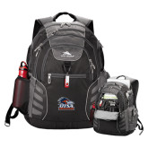 High Sierra Big Wig Black Compu Backpack-Primary Logo