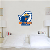 2 ft x 2 ft Fan WallSkinz-UT Tyler w/ Eagle Head