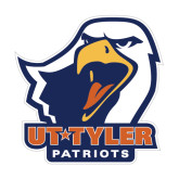 Medium Decal-UT Tyler w/ Eagle Head, 8 inches wide