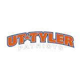 Medium Decal-UT Tyler Arched, 8 inches wide