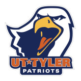 Large Decal-UT Tyler w/ Eagle Head, 12 inches wide