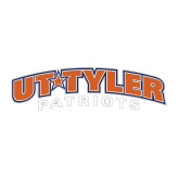 Large Decal-UT Tyler Arched, 12 inches wide