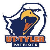 Extra Large Decal-UT Tyler w/ Eagle Head, 18 inches wide