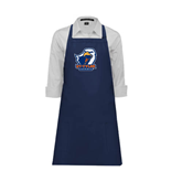 Full Length Navy Apron-UT Tyler w/ Eagle Head