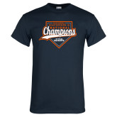 Navy T Shirt-Championship Gear