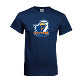 Navy T Shirt-UT Tyler w/ Eagle Head