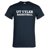 Navy T Shirt-Flag T - Basketball