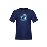 Youth Navy T Shirt-UT Tyler w/ Eagle Head