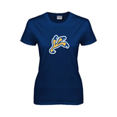 Ladies Navy T Shirt-Eagle Talon