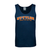 Navy Tank Top-UT Tyler Arched