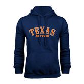 Navy Fleece Hood-Texas at Tyler