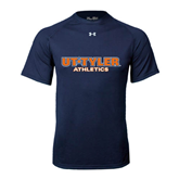 Under Armour Navy Tech Tee-Athletics