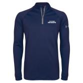 Under Armour Navy Tech 1/4 Zip Performance Shirt-Primary Athletics Mark