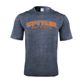 Performance Navy Heather Contender Tee-UT Tyler Arched