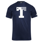 Russell Core Performance Navy Tee-Flag T