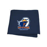 Navy Sweatshirt Blanket-UT Tyler w/ Eagle Head