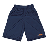 Midcourt Performance Navy 9 Inch Game Short-UT Tyler Arched