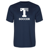Performance Navy Tee-Flag T - Soccer