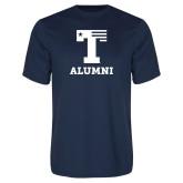 Performance Navy Tee-Alumni