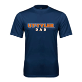 Syntrel Performance Navy Tee-Dad