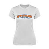 Ladies Syntrel Performance White Tee-UT Tyler Arched