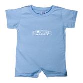 Light Blue Infant Romper-UT Tyler Arched